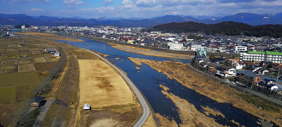 玖珠川合流点